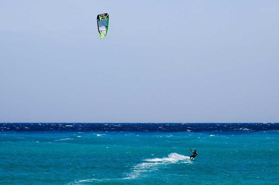 Kitesurfing in Rayong, Thailand