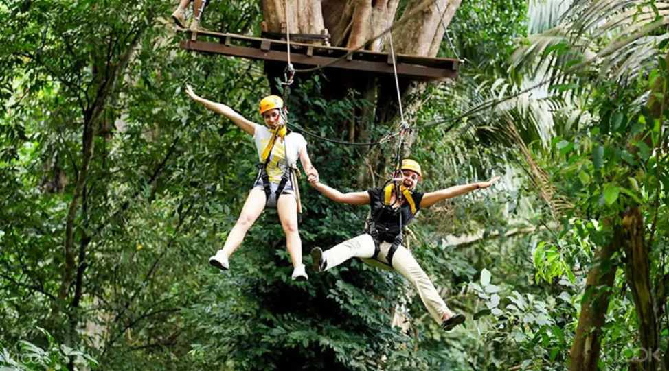 Flying Hanuman Ziplining Experience Klook