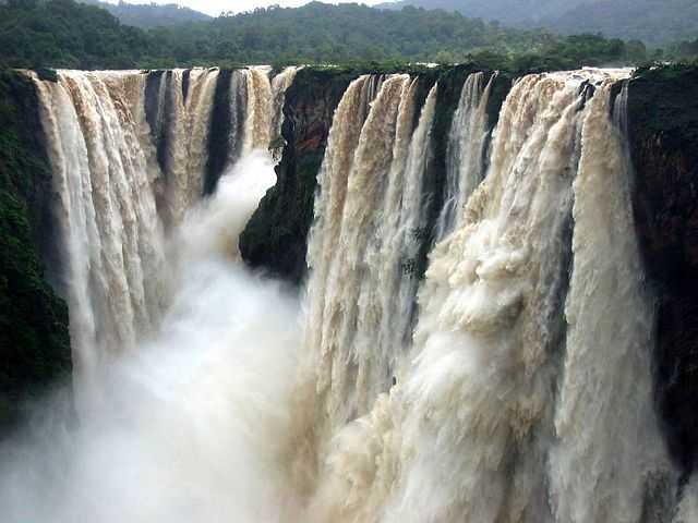 Jog Falls in Monsoon Season