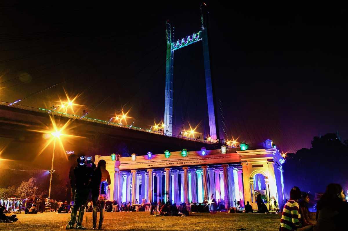 Night in Kolkata