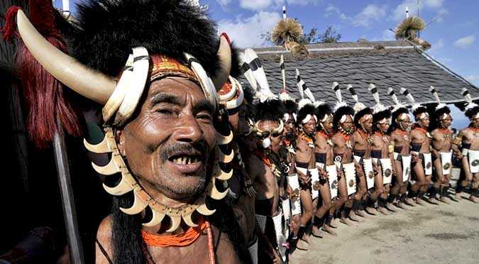 Culture Of Nagaland - Food, Dress, Tradition  People Of -7544