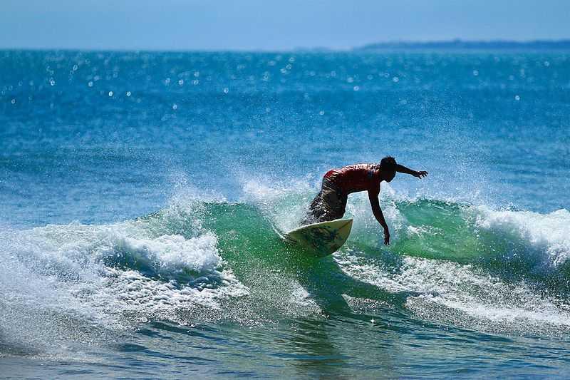 Surfing in Bali, Kuta Beach