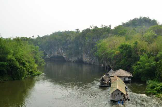 White Water Rafting in Kanchaburi Thailand