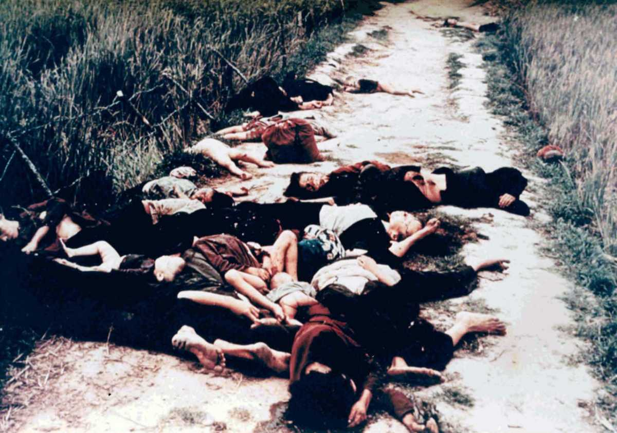 Reaction to My Lai Massacre