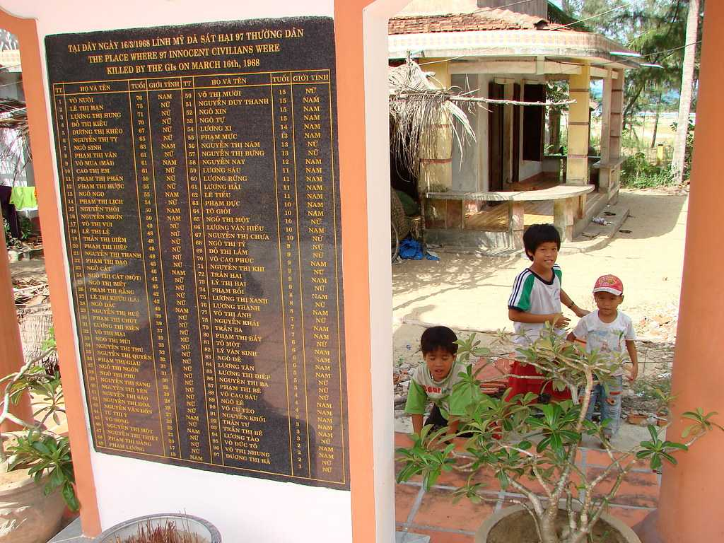 Number of People killed in My Lai Massacre