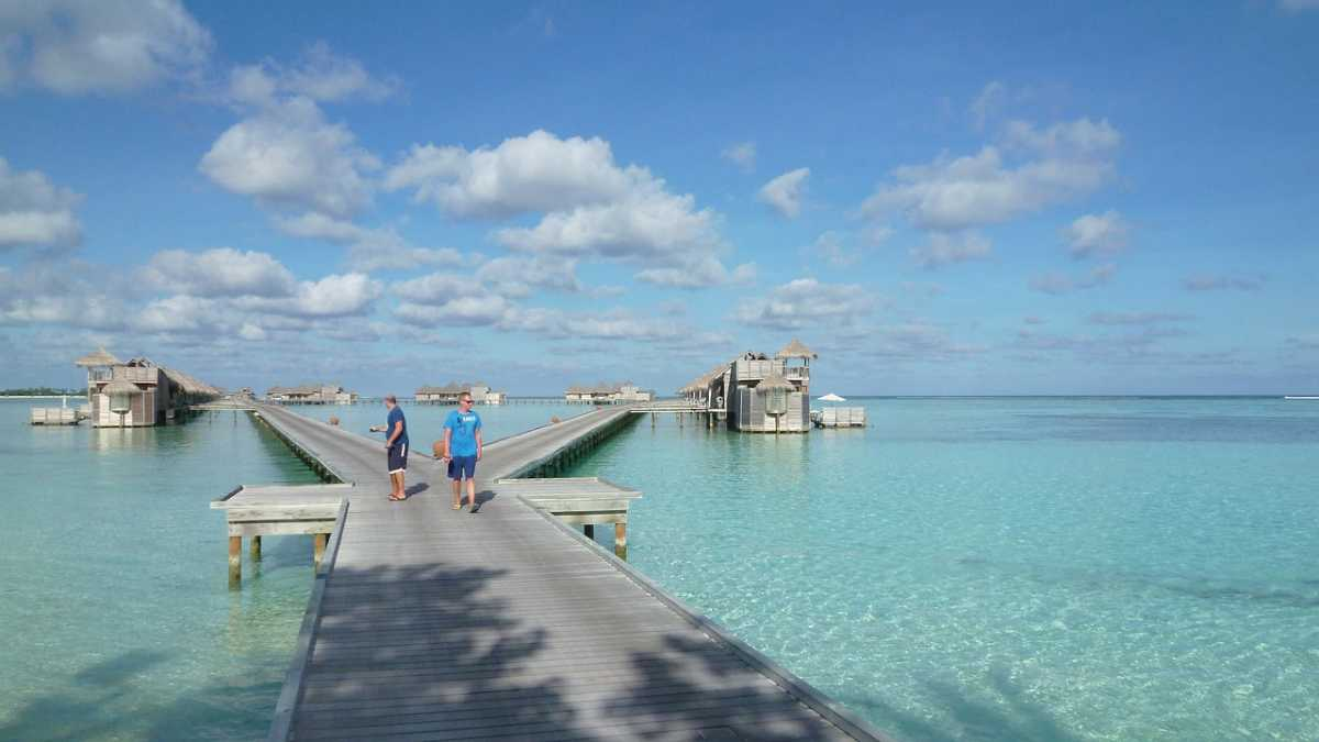 Weather, Mauritius Vs Maldives