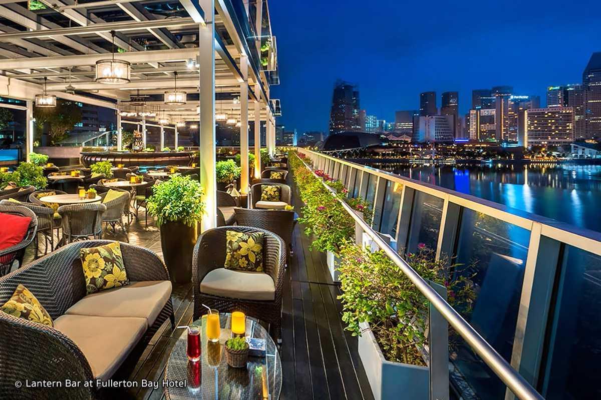 Lantern Rooftop Bar, Best Bars in Singapore