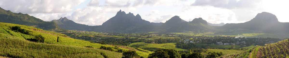 Mauritius landscape, Mauritius in December