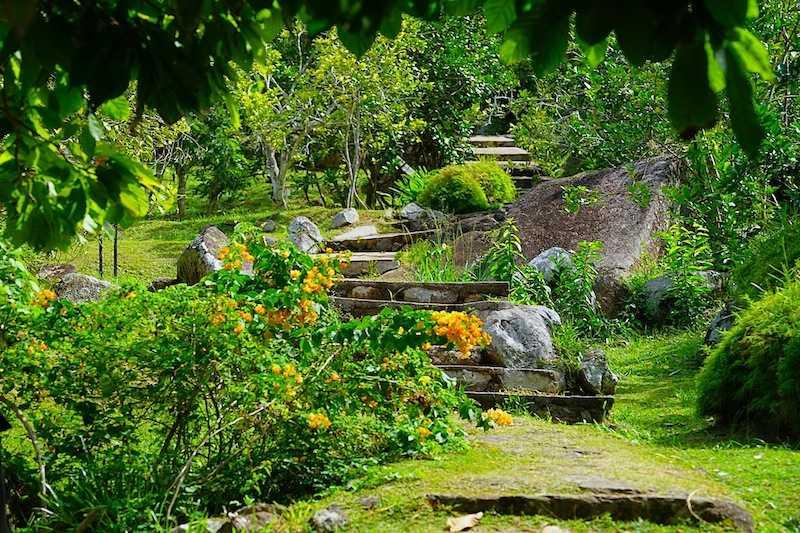 Le Jardin Du Roi, History of Mahe