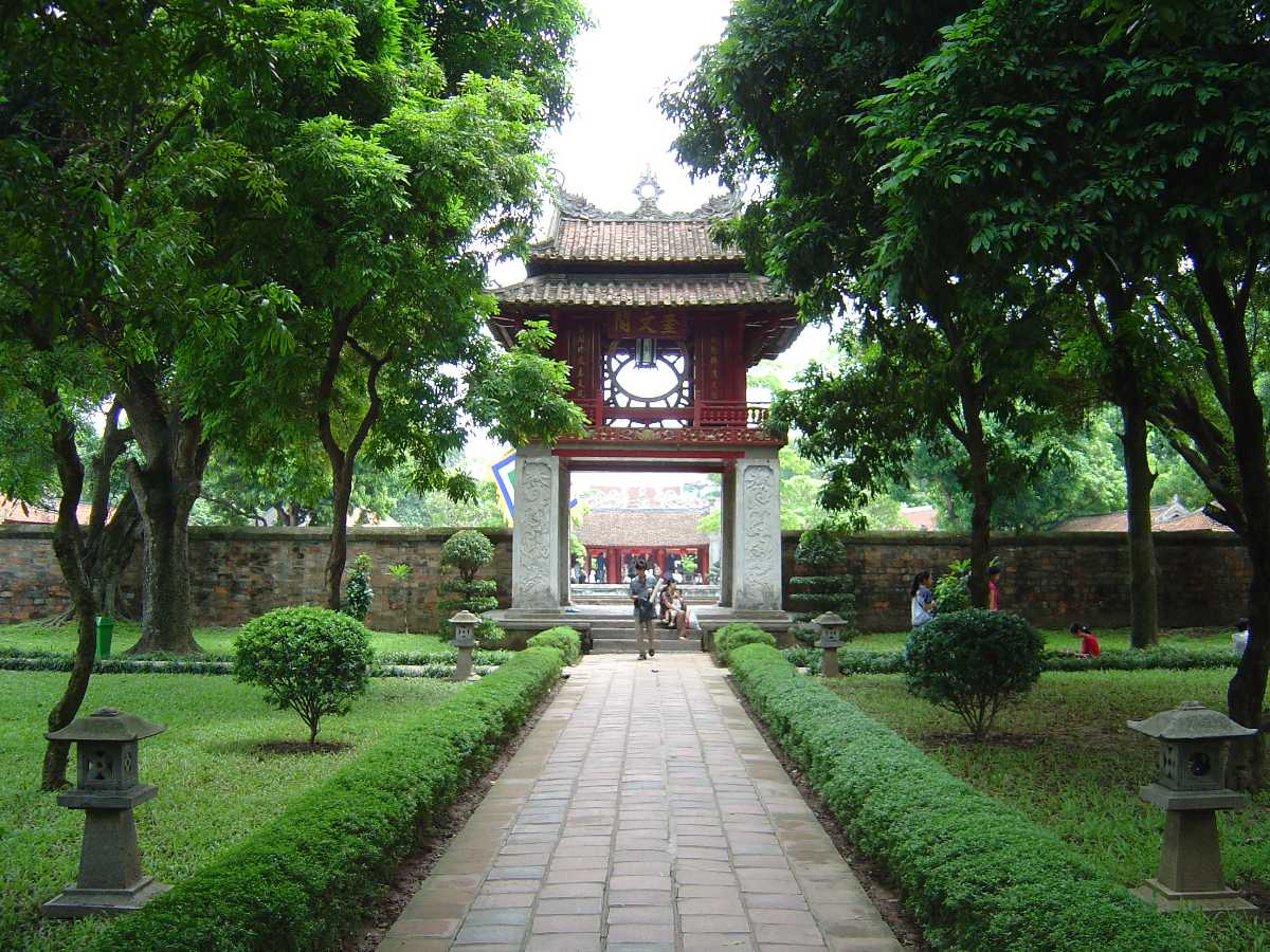 Temple of Literature, Famous Temples in Vietnam