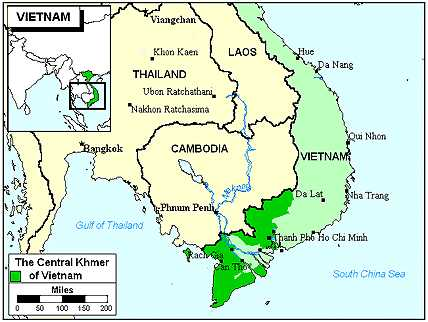 Languages in Vietnam, Khmer