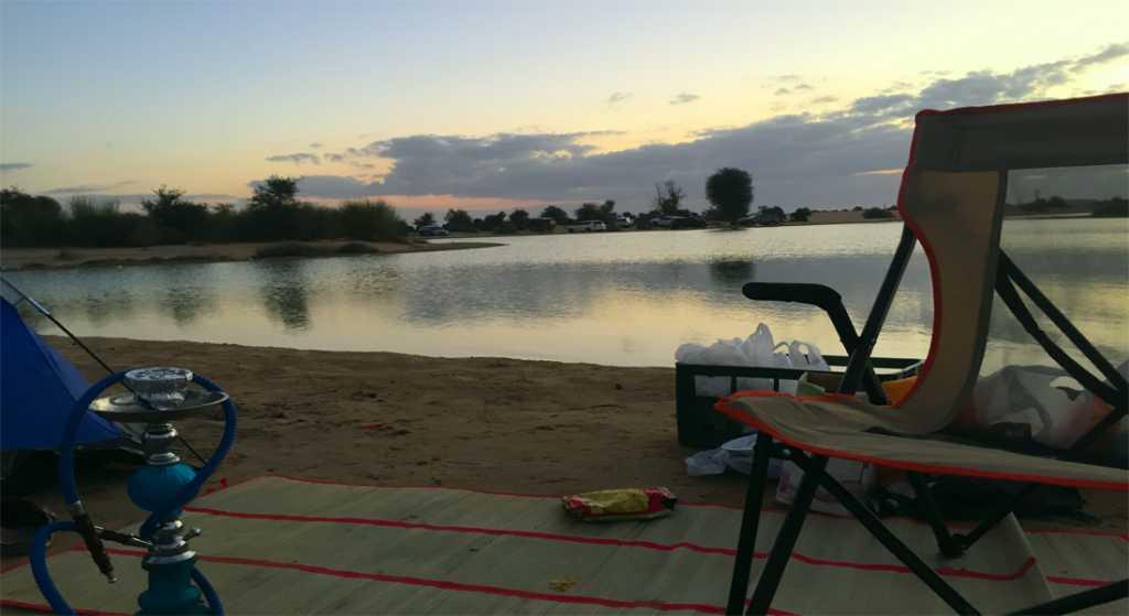 Al Qudra Lakes Camping
