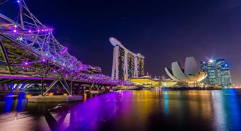 Marina Bay Sands, Nightlife of Singapore