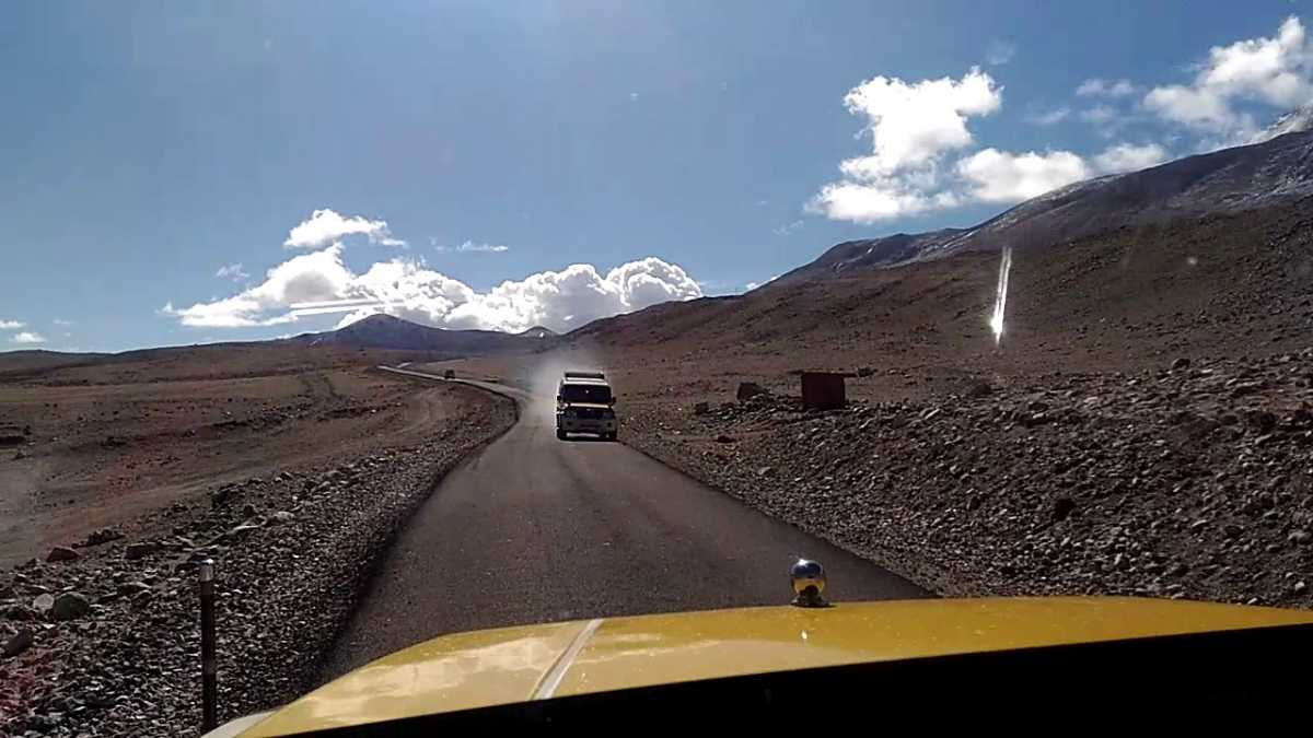 Donkia La, Highest motorable roads in India