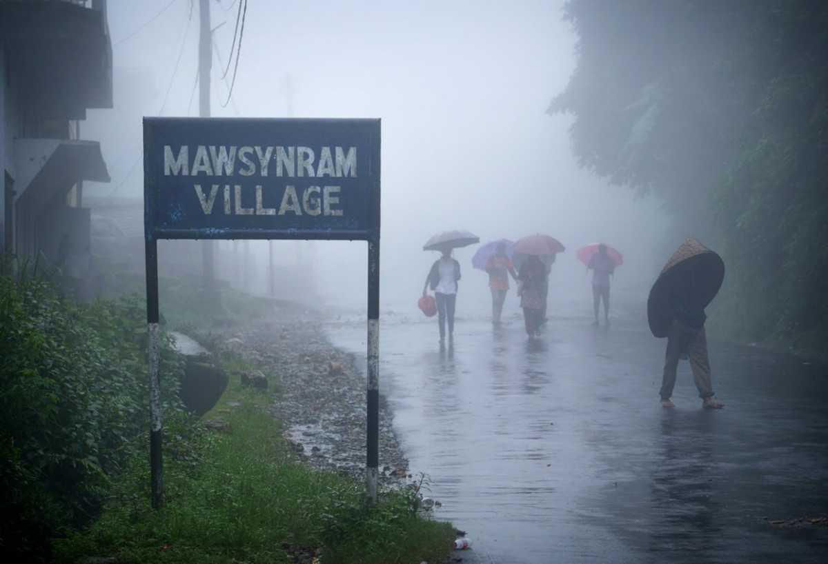 Mawsynram, facts about india
