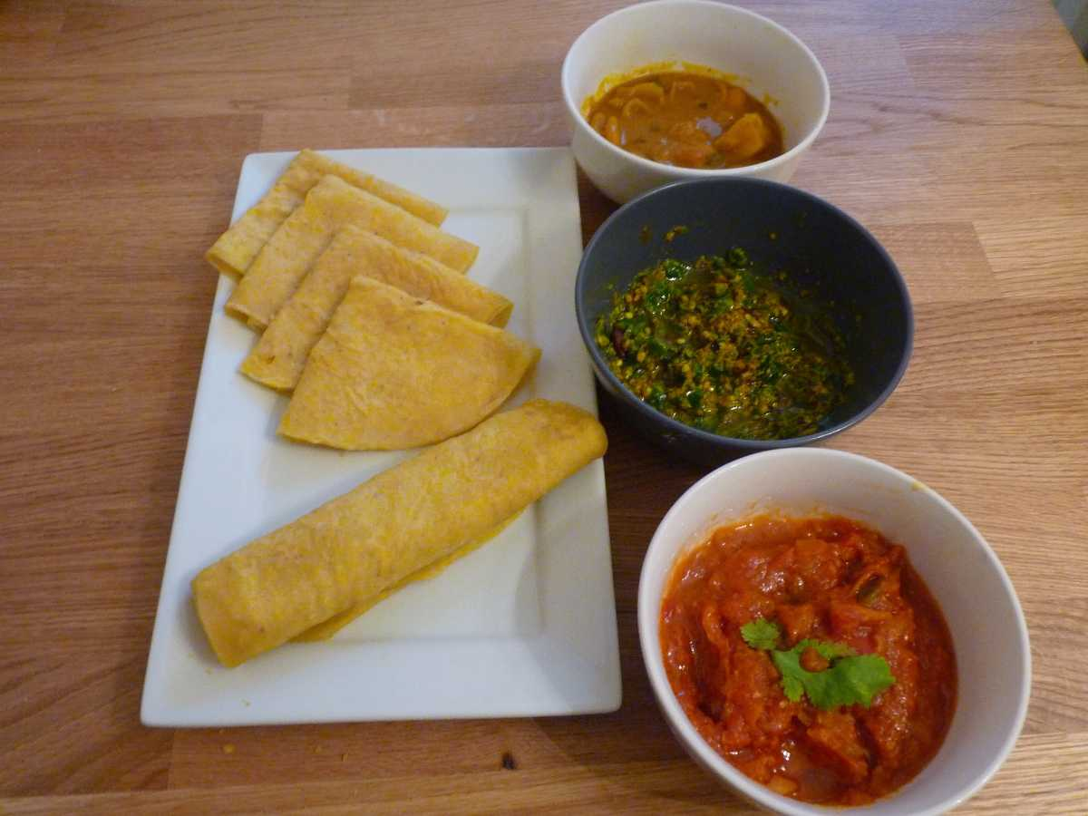 Dholl Puri, Mauritius' National Dish