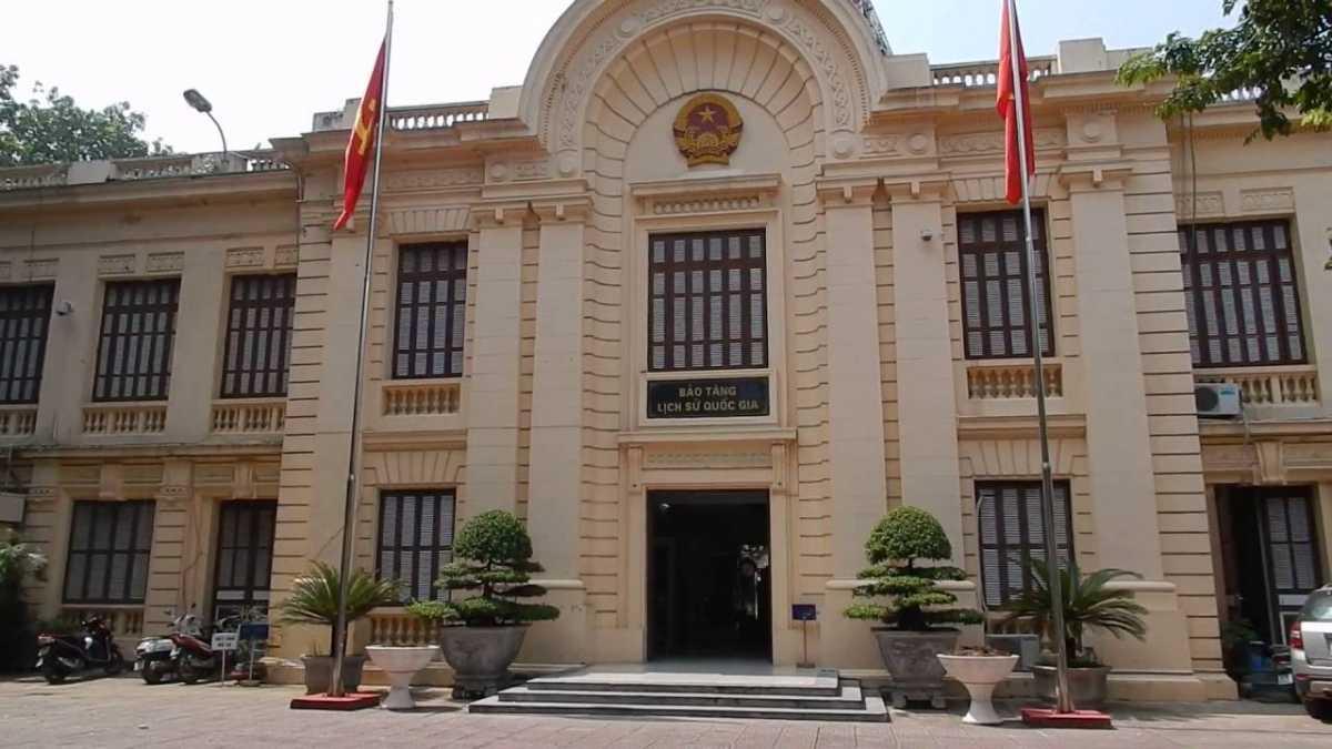 Museum of Vietnamese Revolution Hanoi