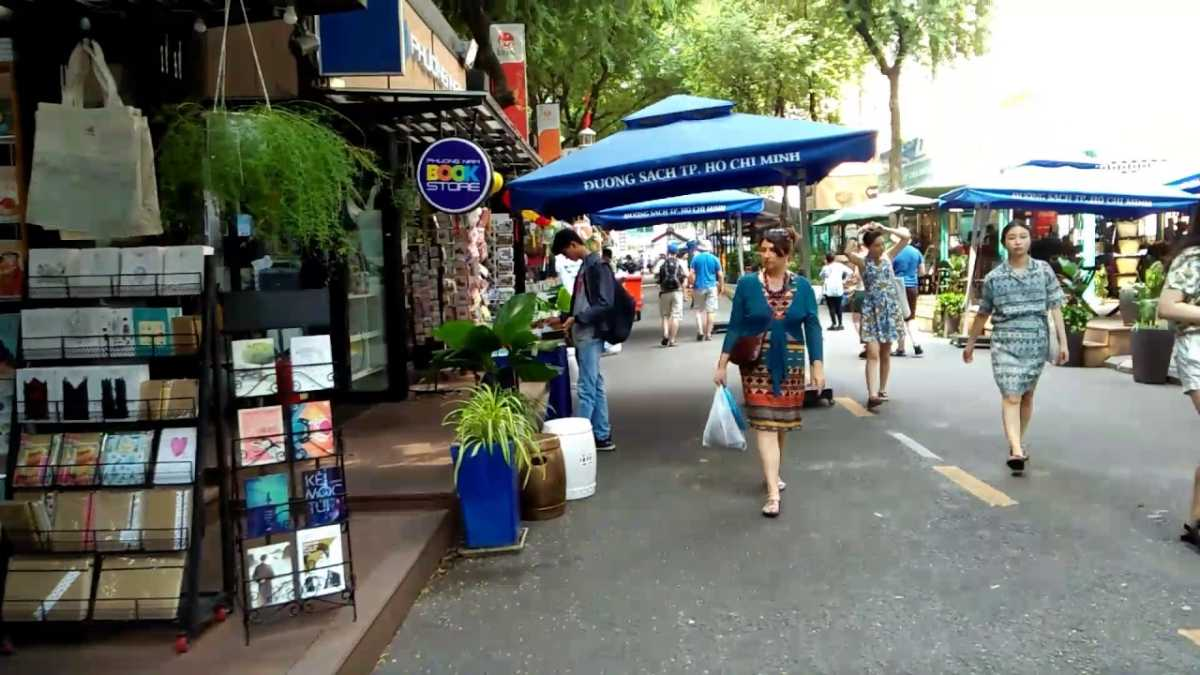 Book Street, Nguyen Van Binh, Ho Chi Minh City, Vietnam