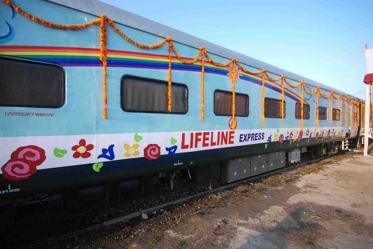 Lifeline Express, facts about india