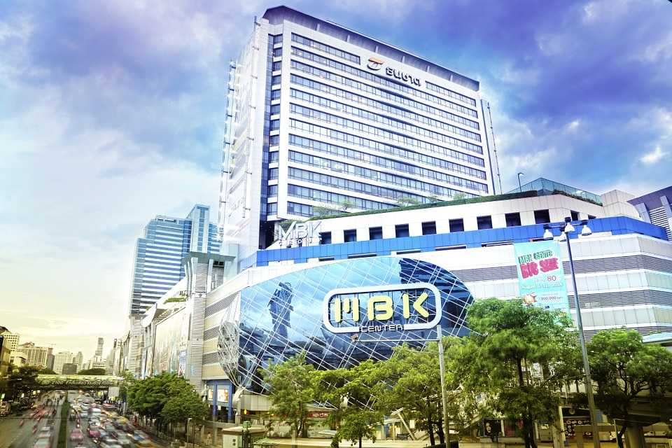 MBK Center, shopping in thailand