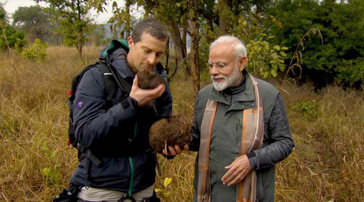 Narendra Modi on Man Vs. Wild