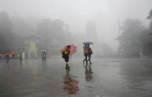 Monsoon in Shimla