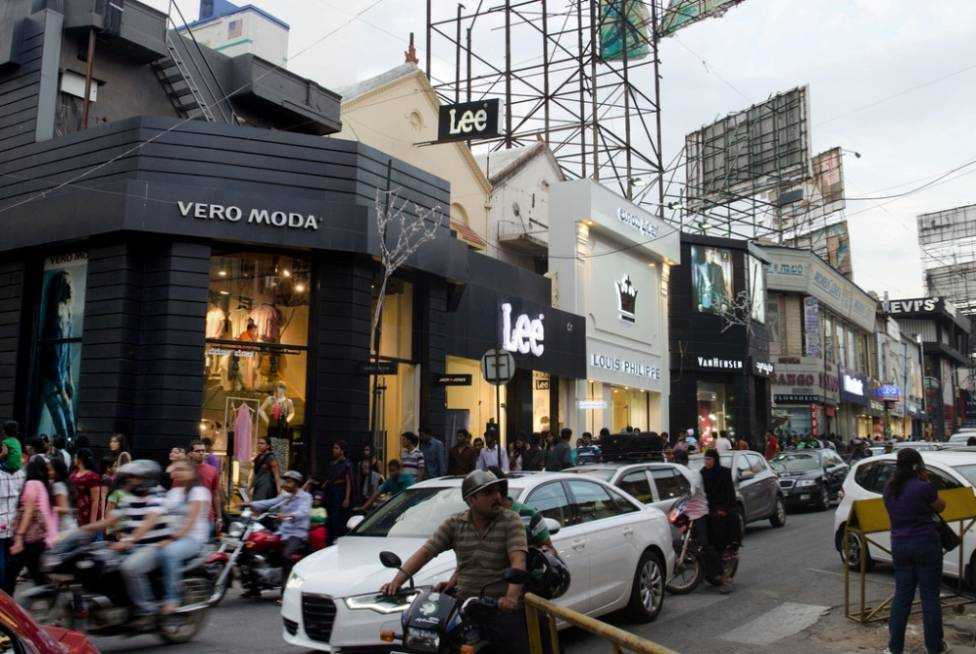 shopping in bangalore, shopping places in bangalore, brigade road