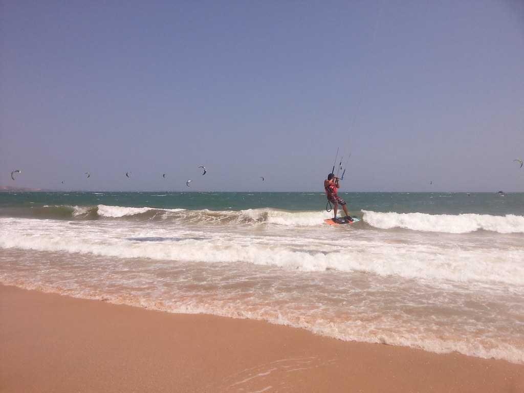 Mui Ne, Kitesurfing in Vietnam