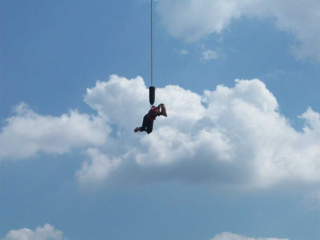 Bungee Jumping, New Year in Nepal