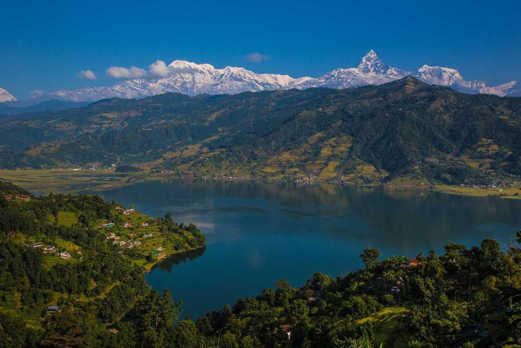 Pokhara, New Year in Nepal