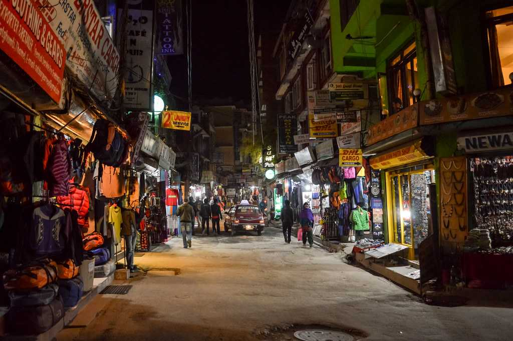 Thamel, New Year in Nepal