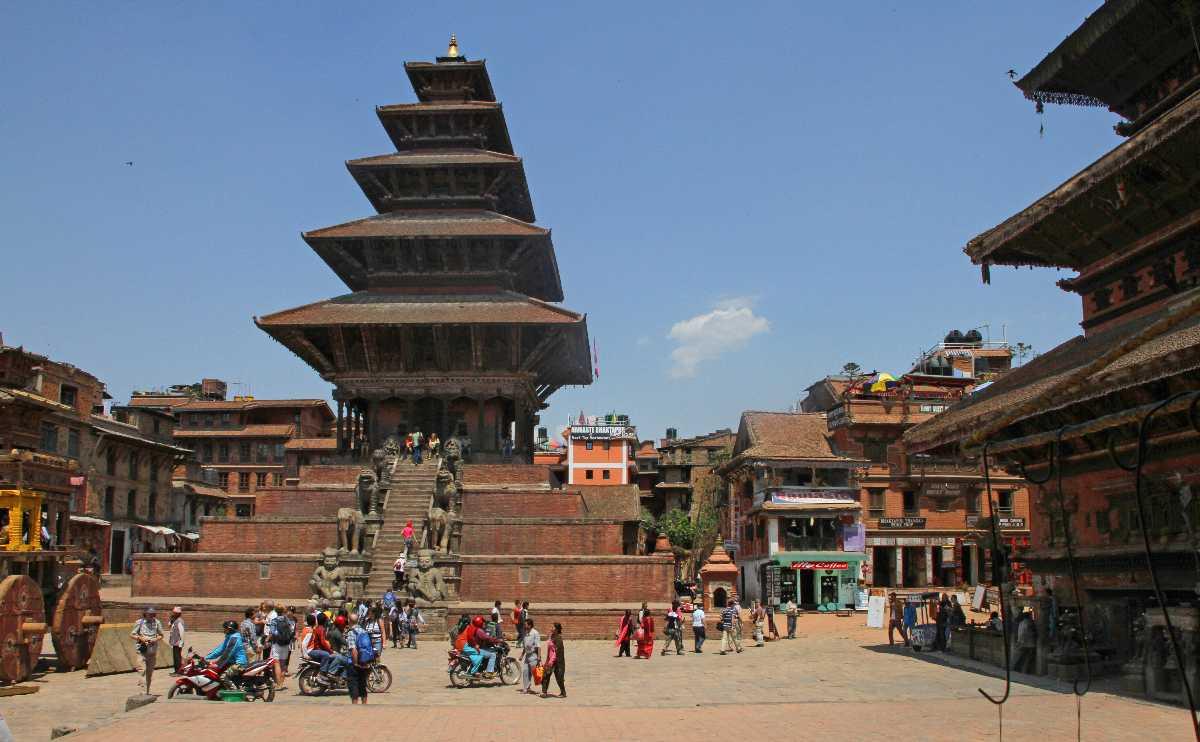 Taumadhi Square, New Year in Nepal