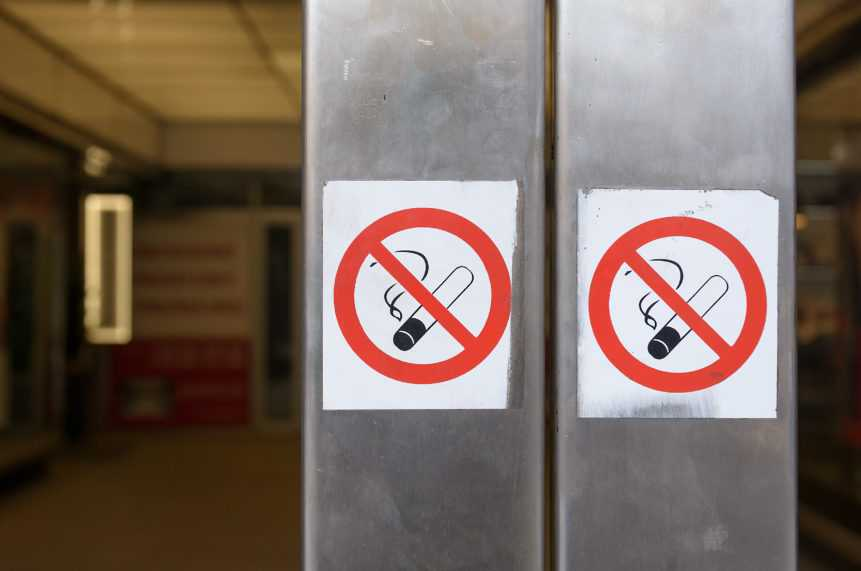 No smoking places in Malaysia