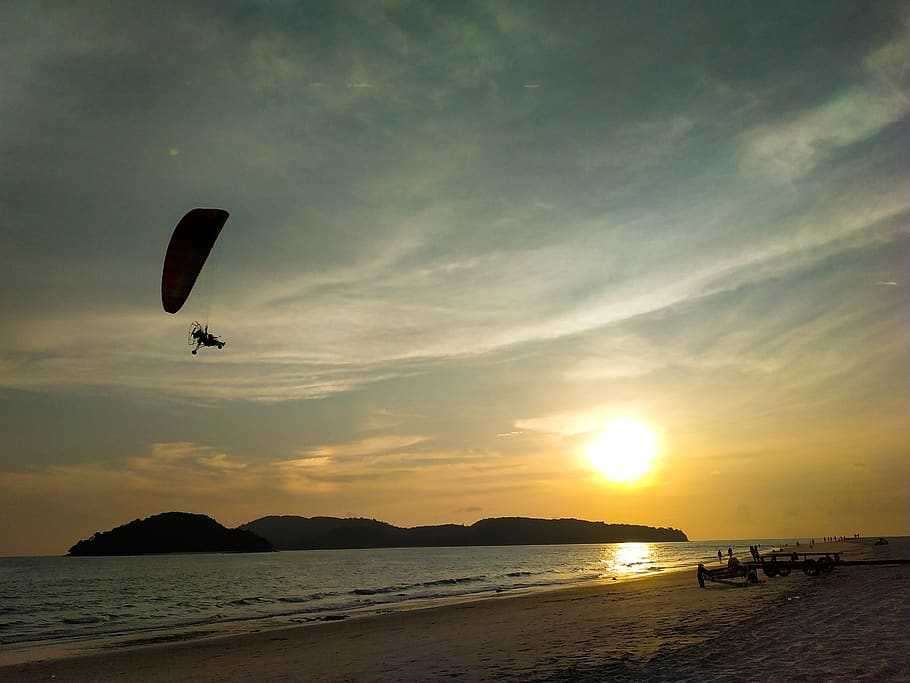 Skydiving at Langkawi