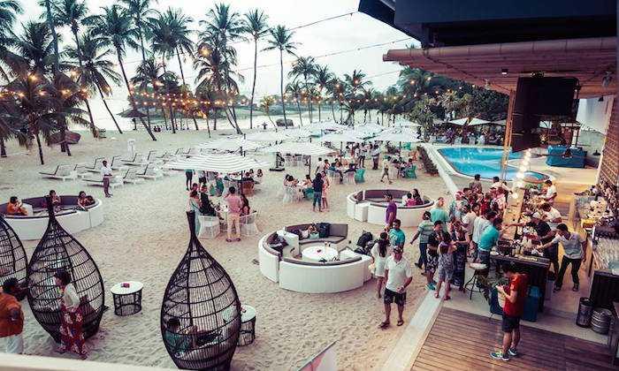 Ola Beach Club, Singapore Bars