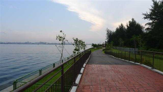 Punggol Coastline and Rivers, Cycling in Singapore