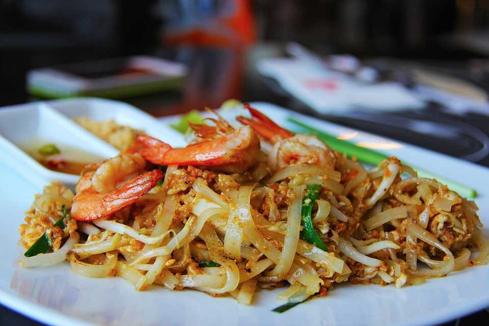 Pad Thai Noodles are one of the most famous dishes of Thailand across the globe, and an essential of Halal food in Thailand