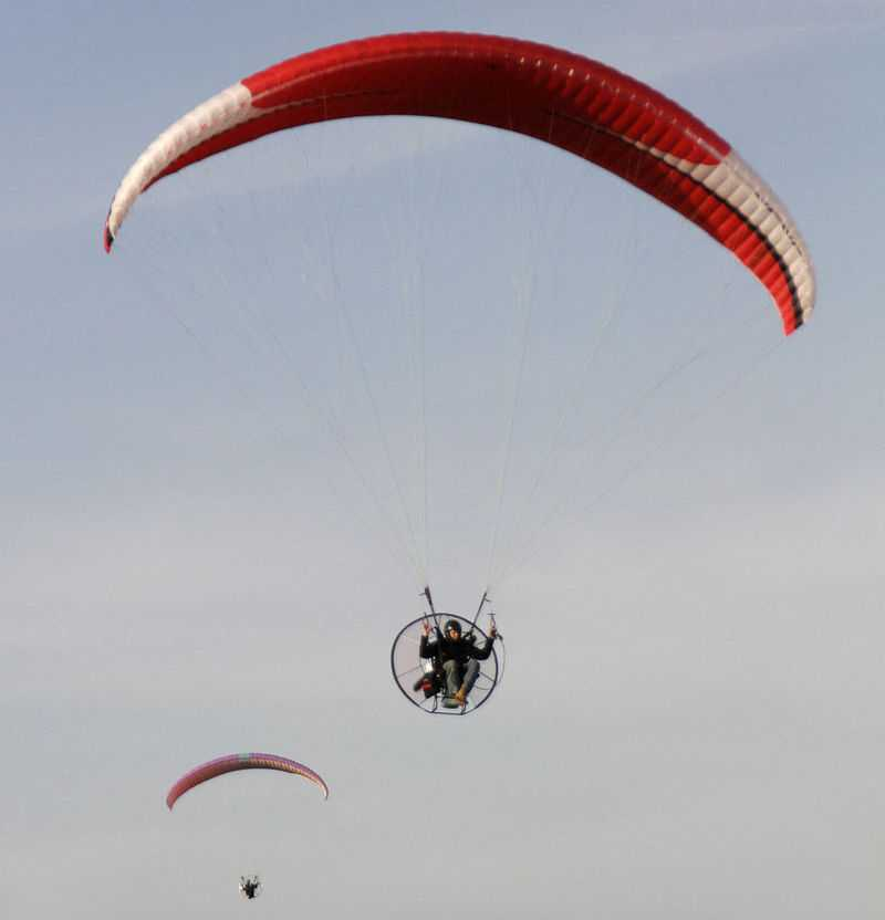 Paragliding in Mauritius