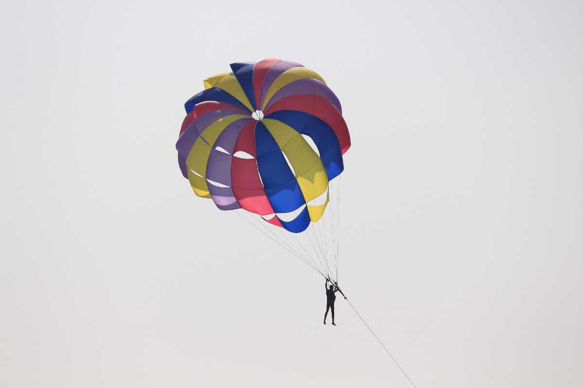 Paragliding in Colva and Mobor