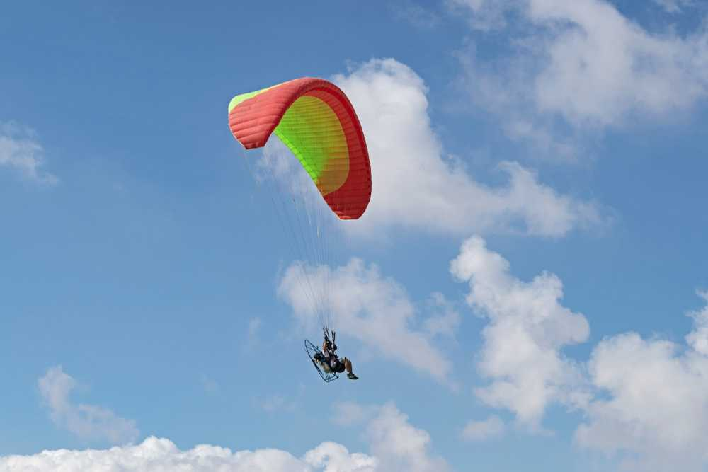 Solo and Tandem Paragliding in Hong Kong