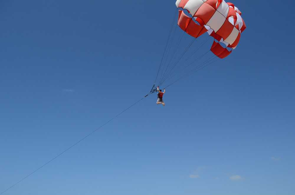 Paragliding, Adventure Activties in Bali