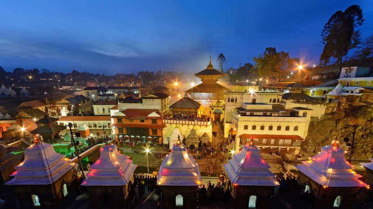 Pashupatinath Temple, Beautiful Places of Nepal