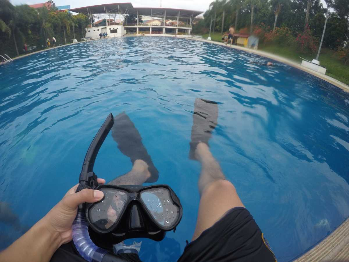 Diving in Batam