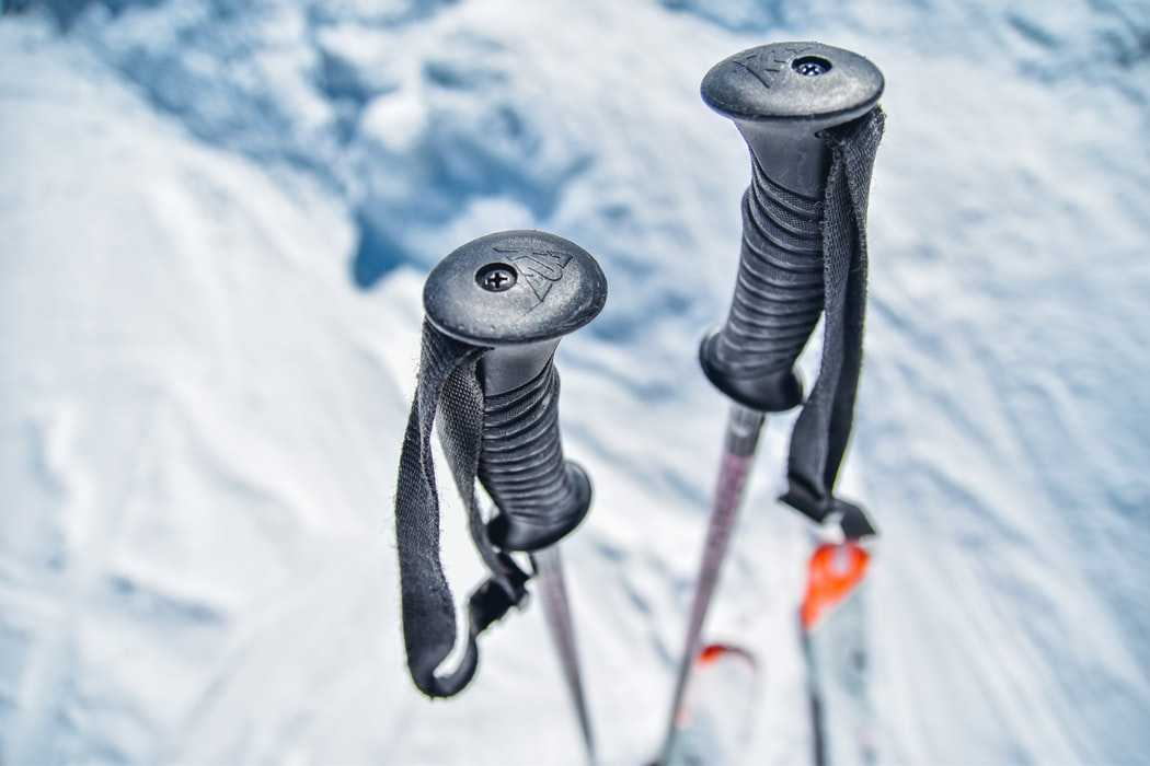 Walking poles for Snow trek