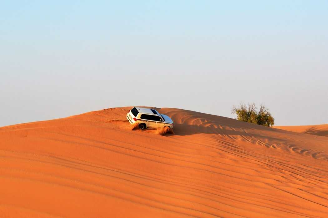Dune Bashing in India