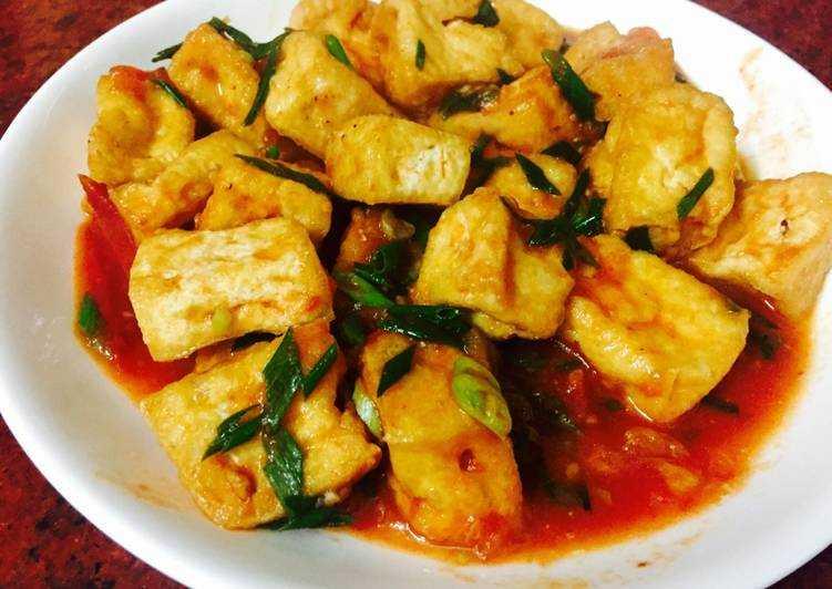 Vegetarian Food in Vietnam, Dau Sot Ca Chau
