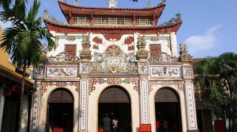 Phu Tay Ho Pagoda Hanoi Vietnam