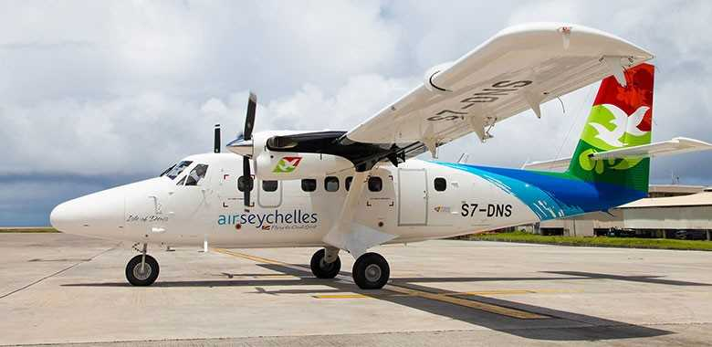 Flights, Commuting within Seychelles