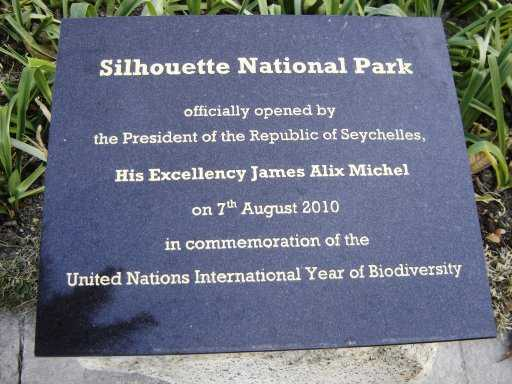 Silhouette National Park, National Parks in Seychelles