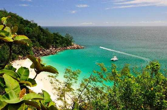 Anse Georgette, Beaches in Praslin Island